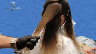 Çikolata Kahve Saç Rengi Nasıl Yapılır Teknik Ayrımlar ile Saç Boyama