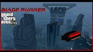 BLADE RUNNER IN GTA 5 - Short Cinematic Film