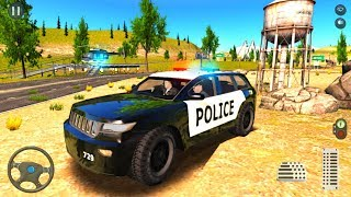 4x4 Police Jeep SUV Drive - City Cop Car Driver 2020 - Android Gameplay