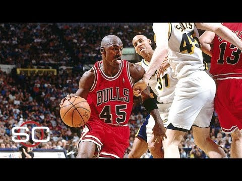 ac012c6540f Michael Jordan returns to Bulls wearing No. 45 after 17-month retirement