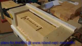 How To Router Template Jig.wmv