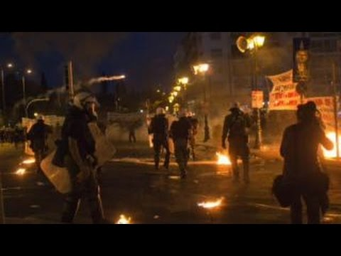 Death of democracy in Greece?