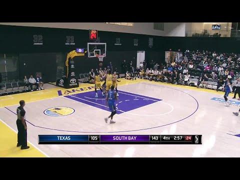 Brandon Ashley (23 points) Highlights vs. South Bay Lakers