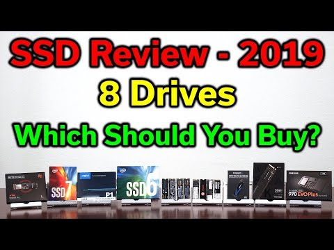 SSD Review — 8 NVMe M.2 Drives Tested — Which Should You Buy? — 2019 Edition