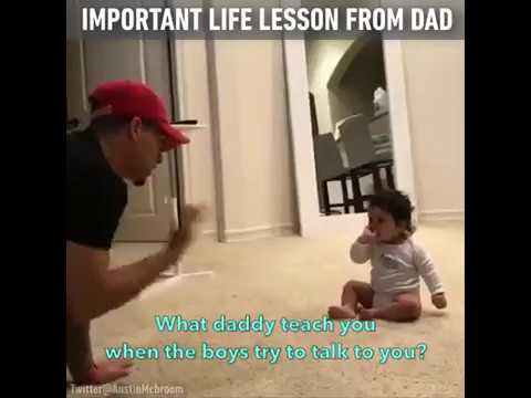 Important Life Lesson From Dad