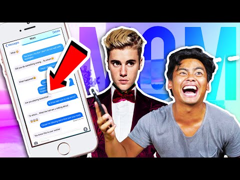 Thumbnail: Pranking MOM with JUSTIN BIEBER'S SORRY Lyrics