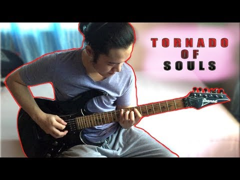 Megadeth - Tornado of Souls [Guitar Cover by Sarj]