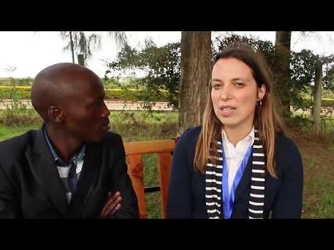 Professor Clarissa from Germany. Her Swahili is on another level.Listen in to her story.