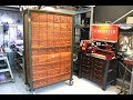 42 Drawer Industrial Style Cabinet - Forme Industrious