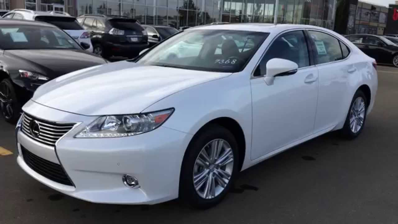 2015 lexus es 350 4dr sdn fwd review youtube. Black Bedroom Furniture Sets. Home Design Ideas