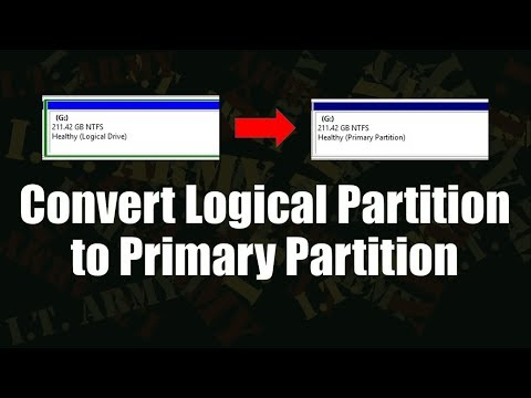 Convert Logical Partition