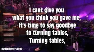 Adele Turning Tables Karaoke