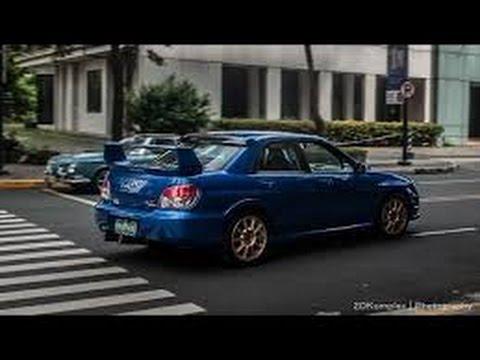 Ultimate Subaru Impreza WRX exhaust sounds - YouTube