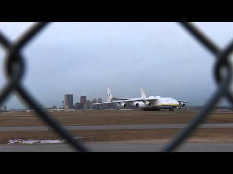 World's biggest plane lands in Calgary