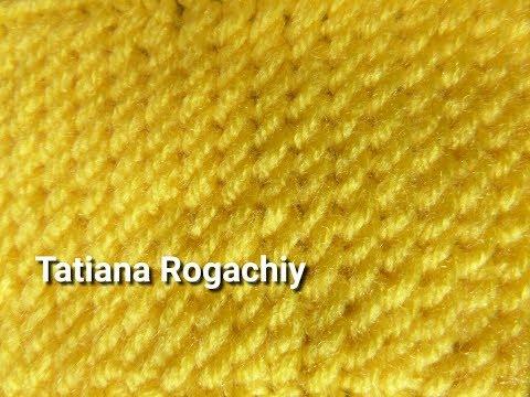 Плотный узор Рисовое поле. Вязание спицами. Обзор пряжи Valencia BAMBINO