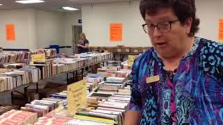 Sneak Peek of the Fall Booksale (Facebook Live)
