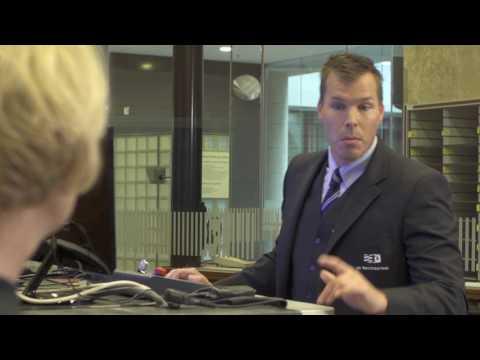 Toegangscontrole van het Paleis van Justitie in Den Haag