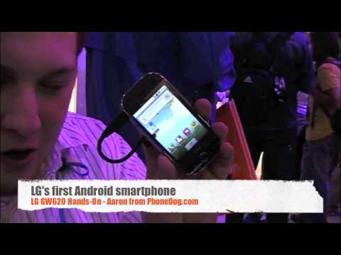 LG GW620 Android Phone Hands-On @ CES 2010