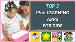 TOP 5 BEST (FREE) APPS FOR KIDS | LEARNING EDUCATIONAL APPS FOR PRESCHOOL & KINDERGARTEN