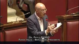 On. Paolo Russo interviene in Aula sul Decreto