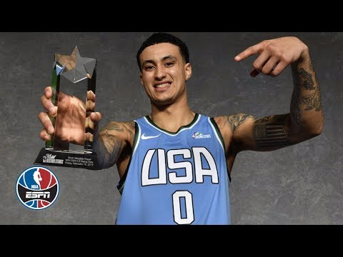 Kyle Kuzma wins Rising Stars MVP, John Collins puts on a dunk show   NBA Highlights