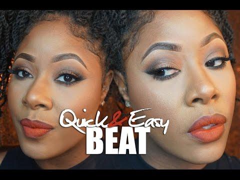 GRWM: QUICK & EASY Beginner Friendly Makeup  MakeupMesha