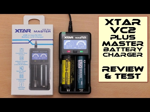 Xtar VC2 Plus Master Charger - Review and Test