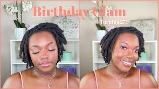 Birthday Glam Makeup Tutorial| Get Ready With Me | Naomi Onlae