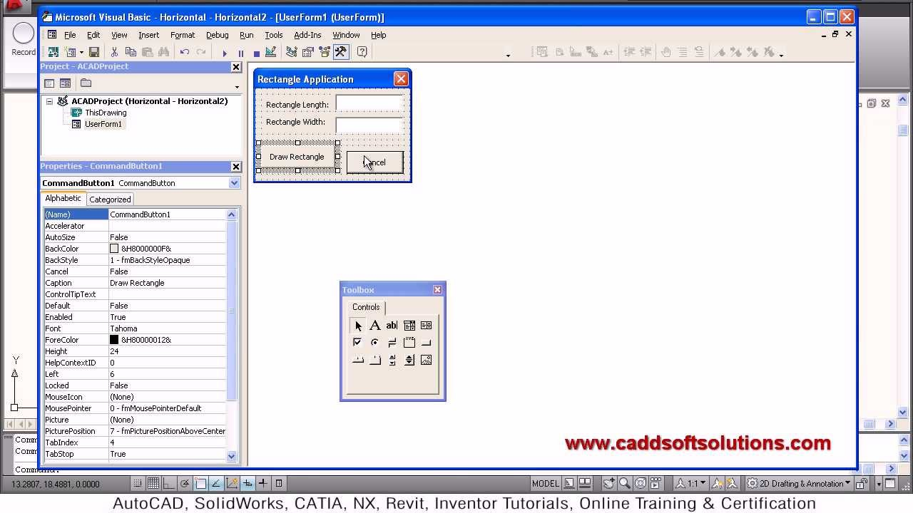 Autocad Vba Programming Tutorial Youtube