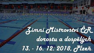 🏊 Zimní Mistrovství ČR dorostu a dospělých 2018 thumbnail