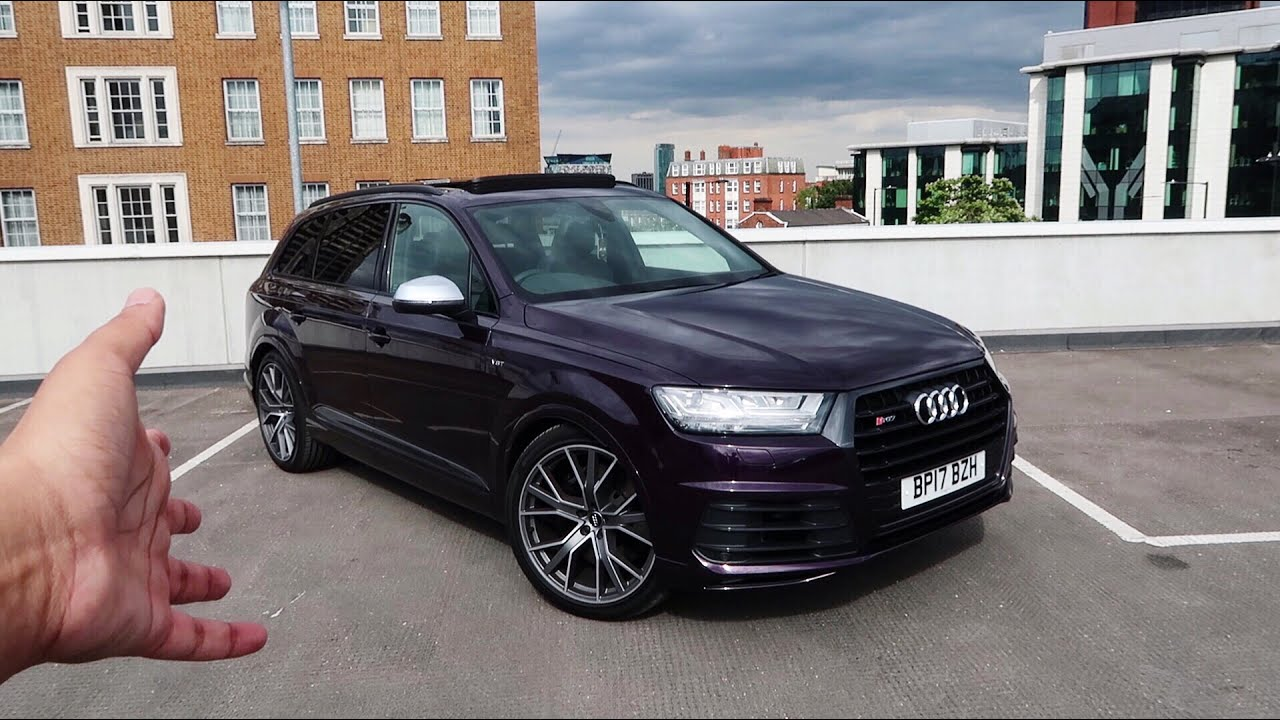 This 2017 Audi Sq7 Is One Of The Fastest Suv S I Ve Ever