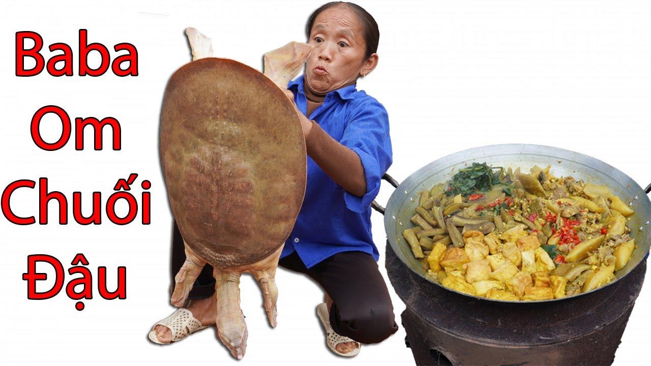 Download Bà Tân Vlog - Thử Thách Làm Ba Ba Om Chuối Đậu Siêu To Khổng Lồ 10kg Và Cái Kết