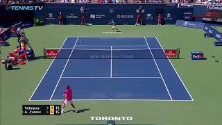 Best shots Tsitsipas vs Zverev Rogers cup 2018
