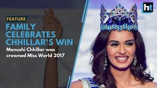 Manushi Chhillar's Friends and Family Congratulate her on her Win