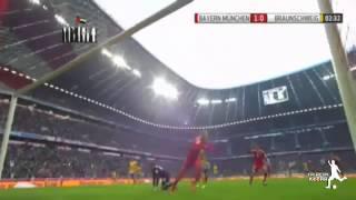 اهداف مباراة بايرن ميونخ واينتراخت براونشفيغ 2-0 الدوري الالماني 30-11-2013 [HD]