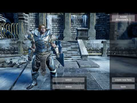 Superior RPG Kit - Third-Person Gameplay Preview