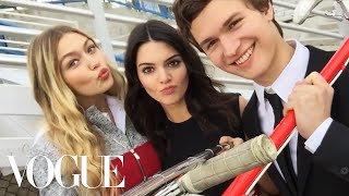 Kendall Jenner and Gigi Hadid's Selfie Stick Adventure | Vogue