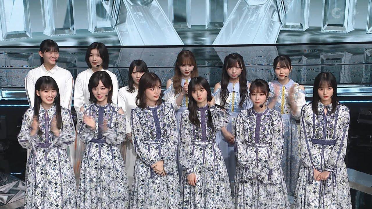 乃木坂46 櫻坂46 日向坂46 坂道選抜ノンストップダンスメドレー THE MUSIC DAY 2021-07-03