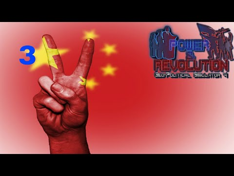 Power and Revolution (Geopolitical Simulator 4) China Part 3 2018 Add-on Rigging a Foreign Election