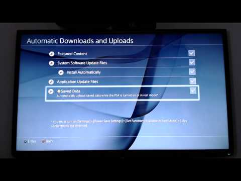 Backing Up And Restoring PS4 Game Saves