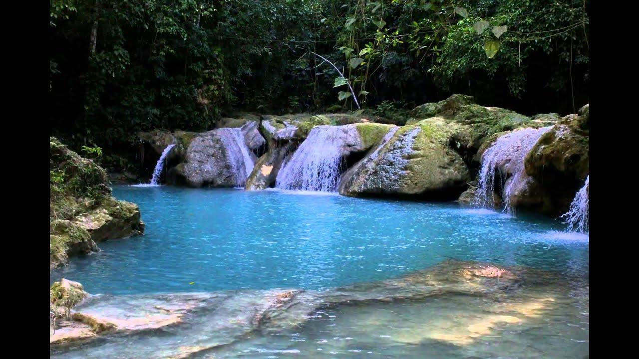 Mystic Falls Wallpaper Quot Blue Hole Quot Ocho Rios Jamaica Youtube