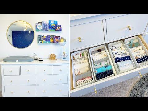 Nursery Organization   How I Organize My Son's Nursery