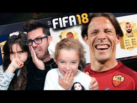 LE MIE FIGLIE SCELGONO I PIU' BRUTTI - DRAFT CHALLENGE FIFA 18