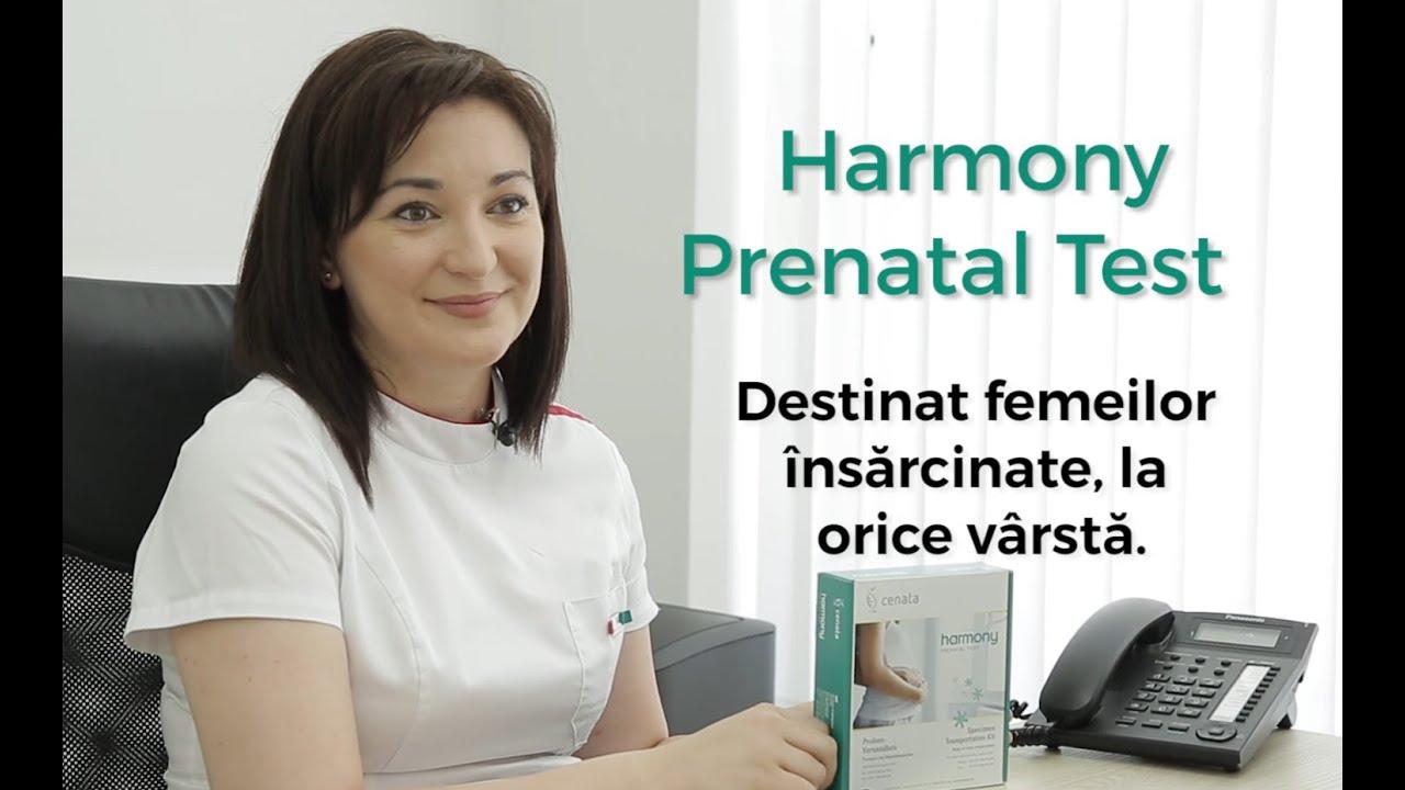 Testul Prenatal Harmony: Depistează mai mult de 70% din toate anomaliile