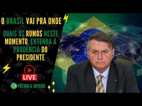 O Brasil Vai Pra Onde - Nosso País Tem Solução ? Entenda a Prudência do Presidente