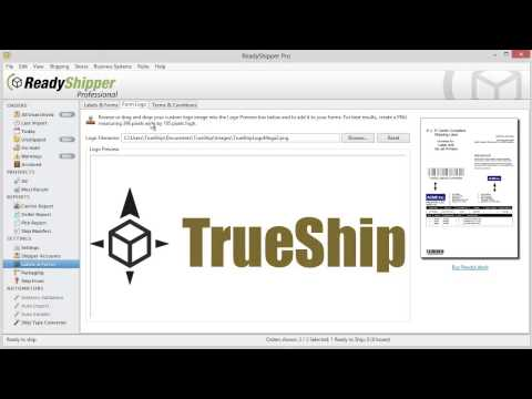 How to Print Your First Shipping Label in ReadyShipper Shipping Software