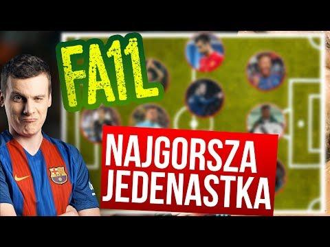 Najgorsza jedenastka 2017 roku! FAIL11