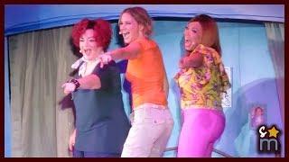 """Video Jennifer Nettles, Tisha Campbell Martin & Lea DeLaria  - """"Dancing Queen"""" - Mamma Mia! Hollywood Bowl download MP3, 3GP, MP4, WEBM, AVI, FLV April 2018"""