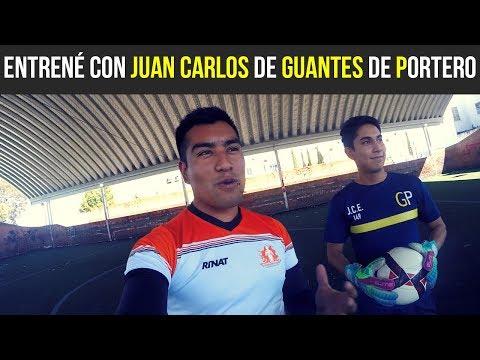 ENTRENÉ CON JUAN CARLOS ESTRADA (Guantes de Portero)