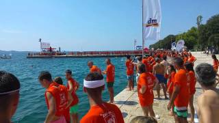 Zadar millennium jump 2015, Croatia